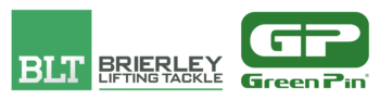 Green Pin & Brierley logos