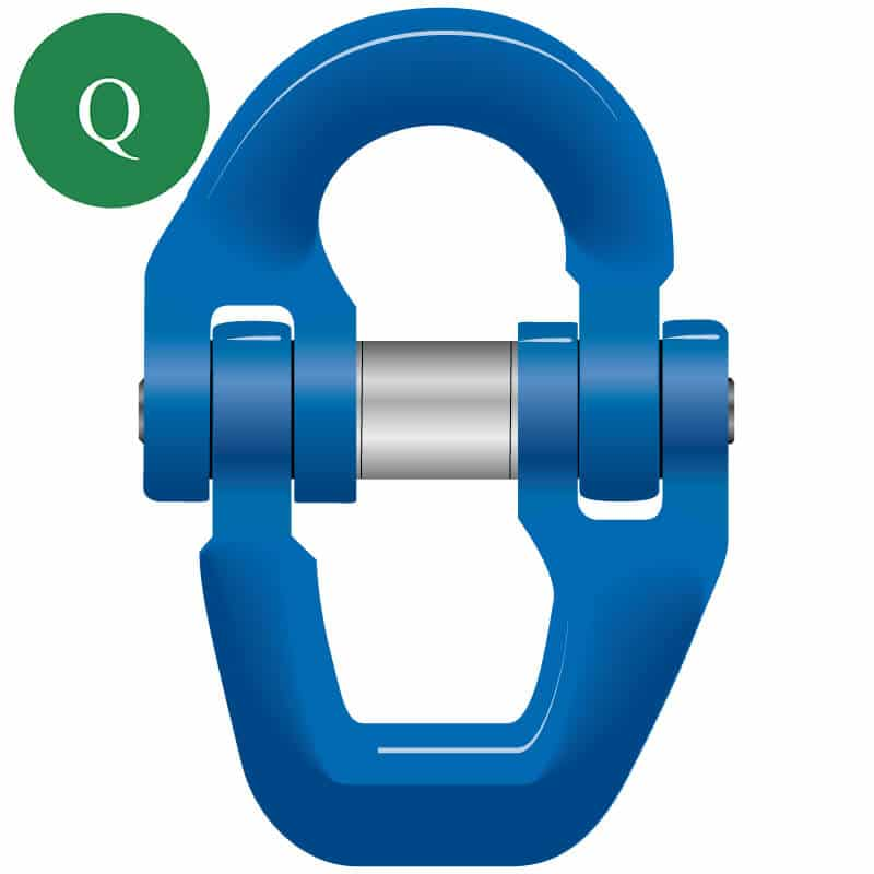 Green Pin Tycan connecting link